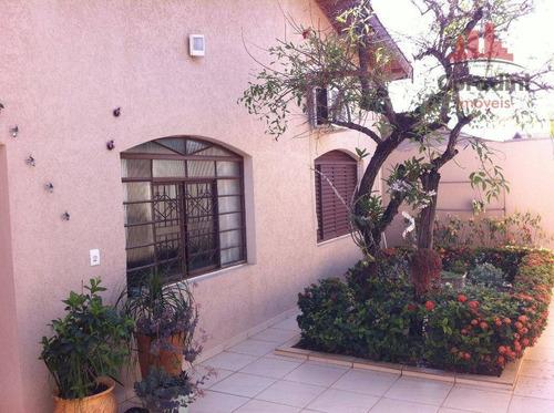 Imagem 1 de 15 de Casa Residencial À Venda, Parque João De Vasconcelos, Sumaré. - Ca1309