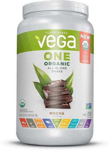 Vega One Proteina Organica A Base De Plantas Moca 1 Lb