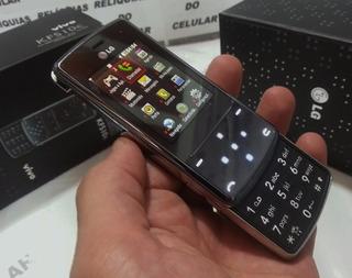 Celular Lg Kf510 Slaide Sensor Lindo Reliquia Completo
