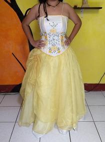 Vestido De 15 Años , Bordado Talla M