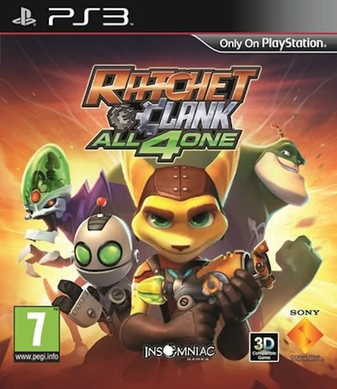 Jogo Ratchet And Clank All 4 One Ps3 Playstation 3 Original