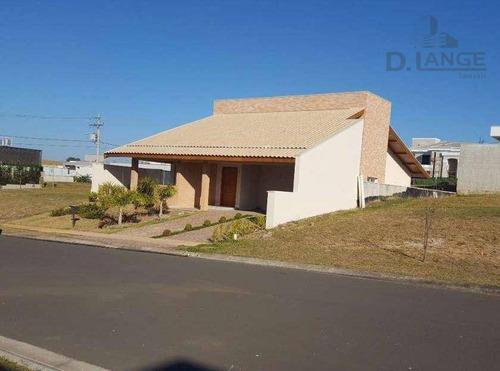 Casa Com 3 Dormitórios À Venda, 215 M² Por R$ 1.380.000,00 - Loteamento Parque Dos Alecrins - Campinas/sp - Ca11571