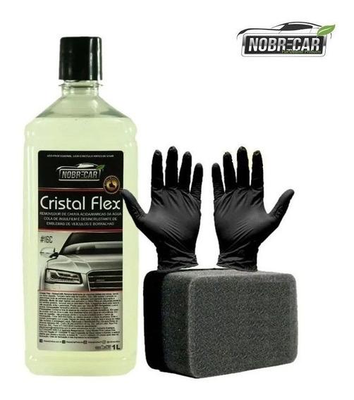 Cristal Flex Removedor De Chuva Ácida P/ Vidros Nobre Car 1l