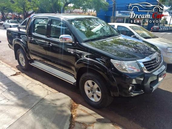 Toyota Hilux Cd Srv 2.7 Preto 2014
