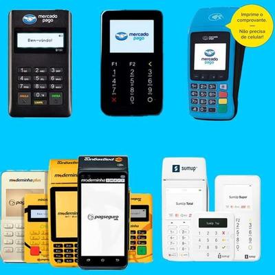 Maquininhas De Cartões De Crédito E Débito