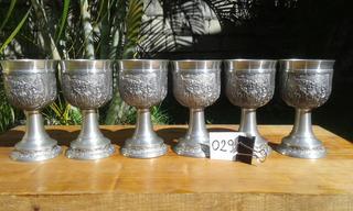 Caliz 200ml Vaso Copa Estaño Alemania Vino Medieval 029