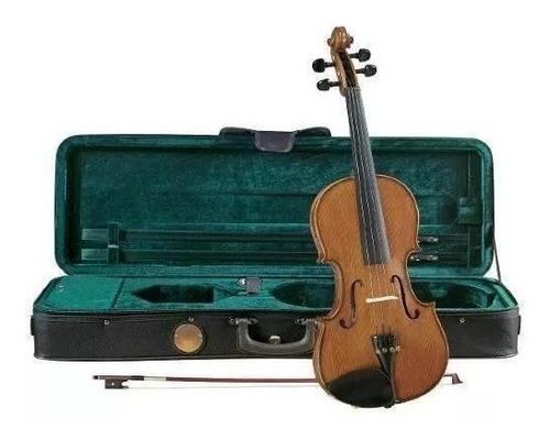 Imagen 1 de 2 de Violin Cremona 4/4 Tapa De Pino Solido Sv-175 Con Estuche