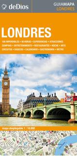 Guía Mapa De Londres. De Dios Guías De Viaje.
