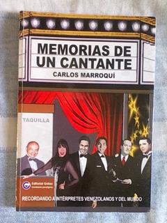 Libro Musica Memorias De Un Cantante