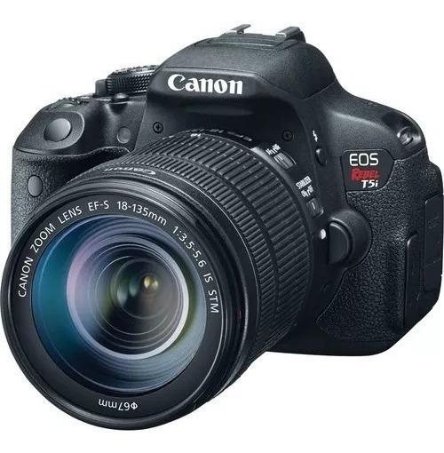 Câmera Canon T5i + 3 Baterias + Cartão 32gb + 2 Lentes +++