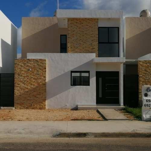 Preciosa Casa En Renta Residencial Puerta De Piedra Dzitya Merida En Renta