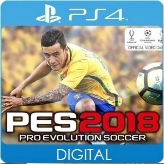 Pes 18 Pro Evolution Soccer 2018 / Ps4 / 1 / Envio Hoje
