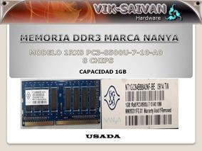 Memoria Ddr3 Nanya 1gb 1066mhz Pc3-8500 8 Chips 2
