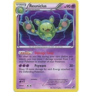 Carta Pokémon Tcg Solosis, Duosion E Reuniclus - Original