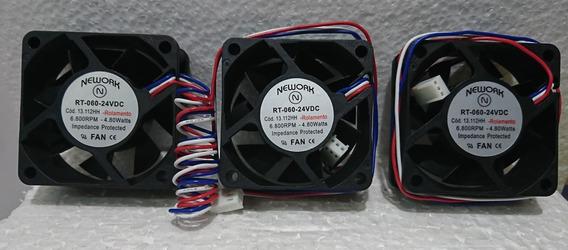 3 Coolers Nework 13.112hh- Rt-60 24v 6k8 Rpm Rol 60x60x25mm