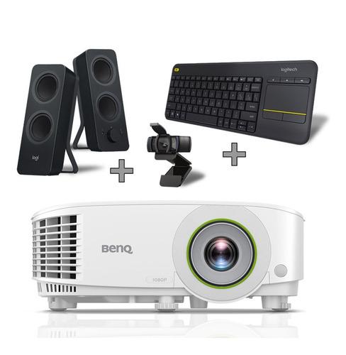 Imagen 1 de 7 de Bundle Proyector Smart Benq Eh600 + Teclado, Bocina Y Cámara