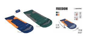 Saco De Dormir Térmico Freedom C/capuz -1,5à-3,5ºc Nautika