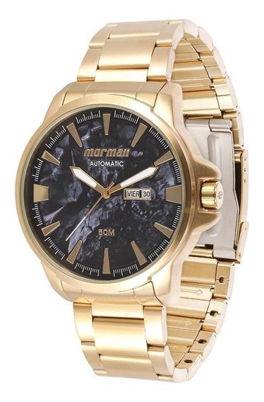 Relógio Mormaii Automático Dourado Mo8205aa/4p