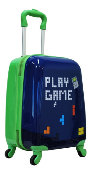 Mochila Mala Infantil Escolar Rod 360° Play Game - Convoy