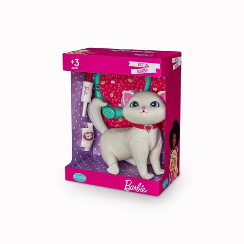 Barbie Pet Gatinha Blissa Meninas Veterinária Com Acessórios