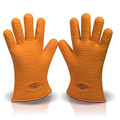 Hands Brands Silicone Bbq Grill Gloves - Resistente Al Calor