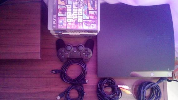Ps3 250gb + Controle + 9 Jogos Originais