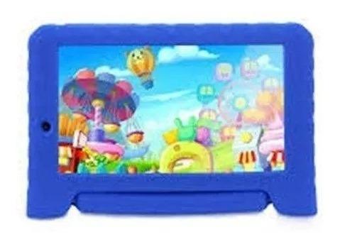 Tablet Multilaser Kid Pad Plus Blue Nb278 8gb Android 7 Wifi + Fone ( Brinde)