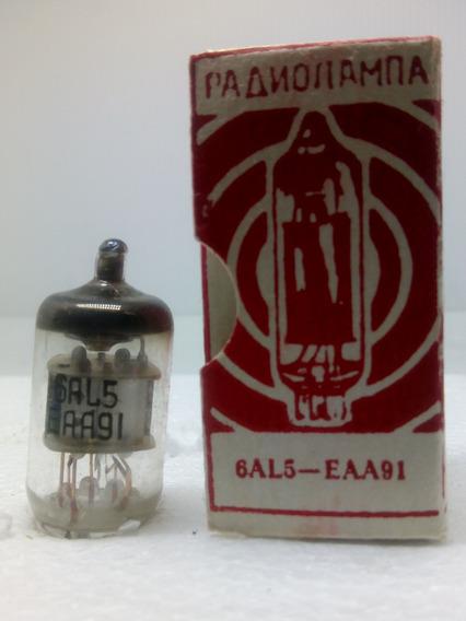 Válvula Eletrônica Eaa91 6al5 Paanonamna Russa