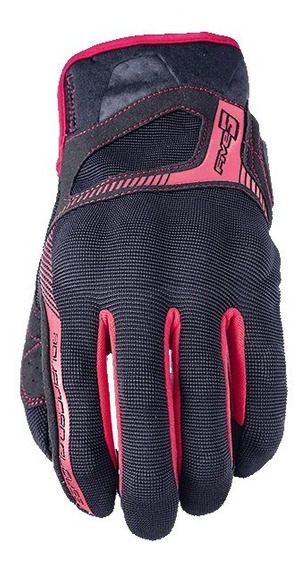 Guantes Five Rs3 Negro Rojo Mh&s