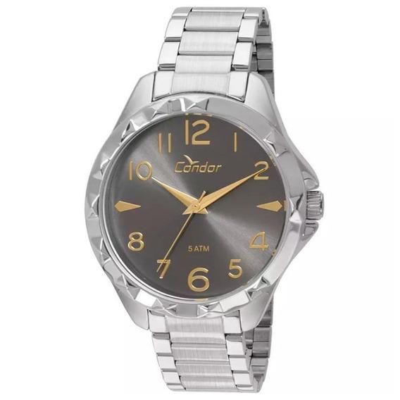 Relógio Condor Feminino Analógico Prata Co2035ksk/3c