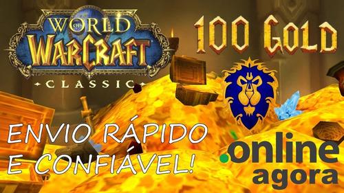 Wow Gold Classic Faerlina Aliança - 100g