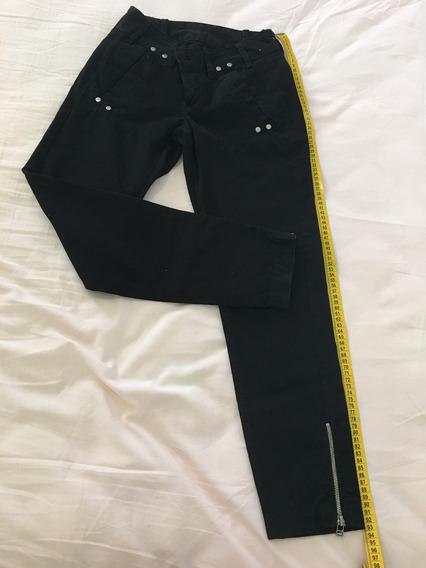 Calça Jeans Feminina Preta Zoomp Tamanho 34