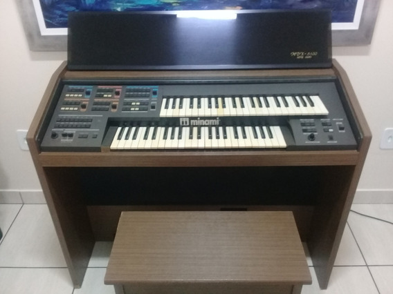 Órgão Minami Mdx-8100 - Série Ouro (com Banco)
