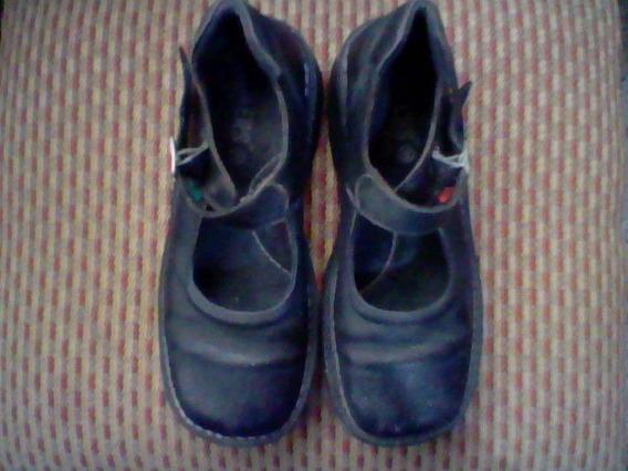 Zapatos Escolares Para Niñas Kickers Talla 38