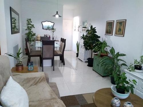 Apartamento Com 2 Dormitórios À Venda, 85 M² Por R$ 425.000,00 - Campo Grande - Santos/sp - Ap3359