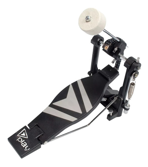 Pedal Simples Bumbo Bateria Correia Barato Percussão