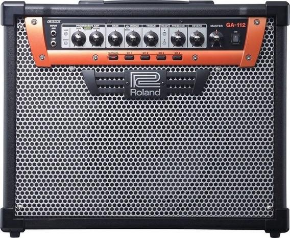 Amplificador Guitarra Roland Ga 112 100w Combo Ga-112