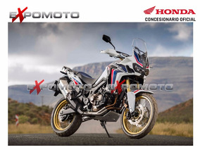 Honda Crf 1000l Mt Africa Twin Tricolor Manual 0km