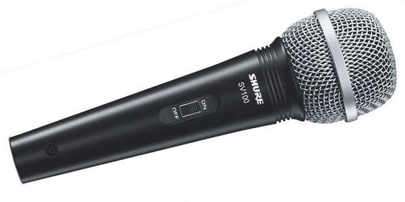 Microfono Shure Sv100 / Dinamico Instrumentos Voz Karaoke