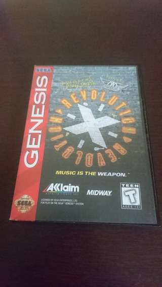 Revolution X Original Pra Sega Genesis/ Mega Drive