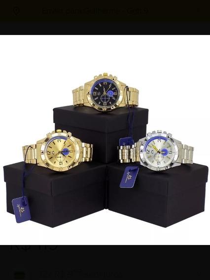 Kit Com 3 Relógios Orizom Masculinos