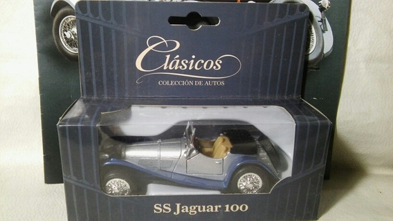 Coleccion Clasicos Argentinos Jaguar Ss100 Con Fasiculo