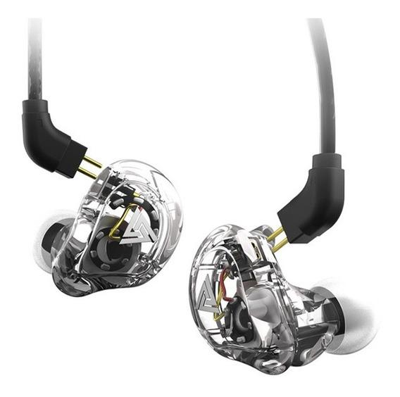 Fone In Ear Kz Vk1 C/ Case Couro Pu Superior Aos Da Shure