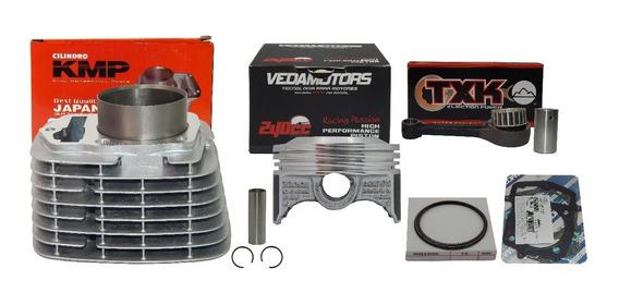Kit Crf 230 P/ 240 67mm Taxado Pistão Vedamotors + Biela Txk