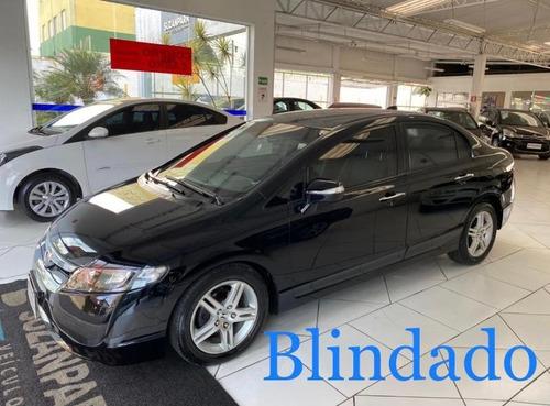 Honda Civic Exs 1.8 Blindado 2008