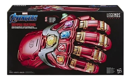 Imagem 1 de 9 de Manopla Iron Man Legends Series Marvel Enfgame Hasbro