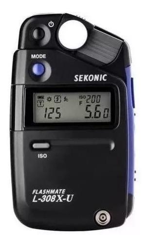 Fotometro Sekonic L-308x-u Flashmeter - Lacrado