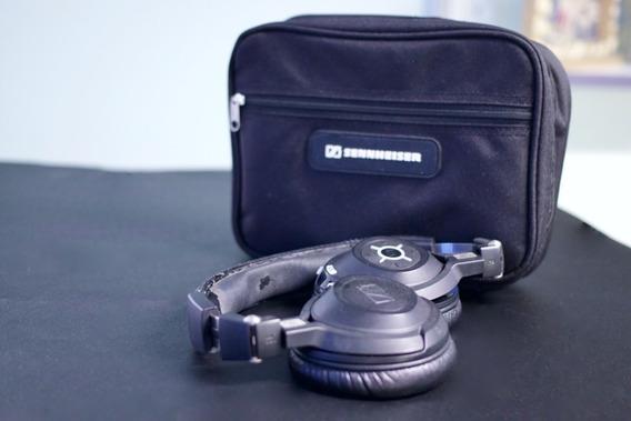 Fone De Ouvido Headset Wireless Sennheiser Mm 550-x Travel