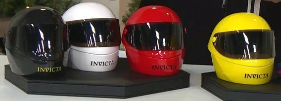 Invicta Caixa Capacete Coleção Completa 4 Capacetes.