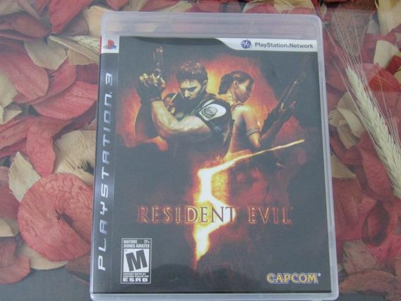 Resident Evil 5 - Mídia Física Ps3 - Impecável